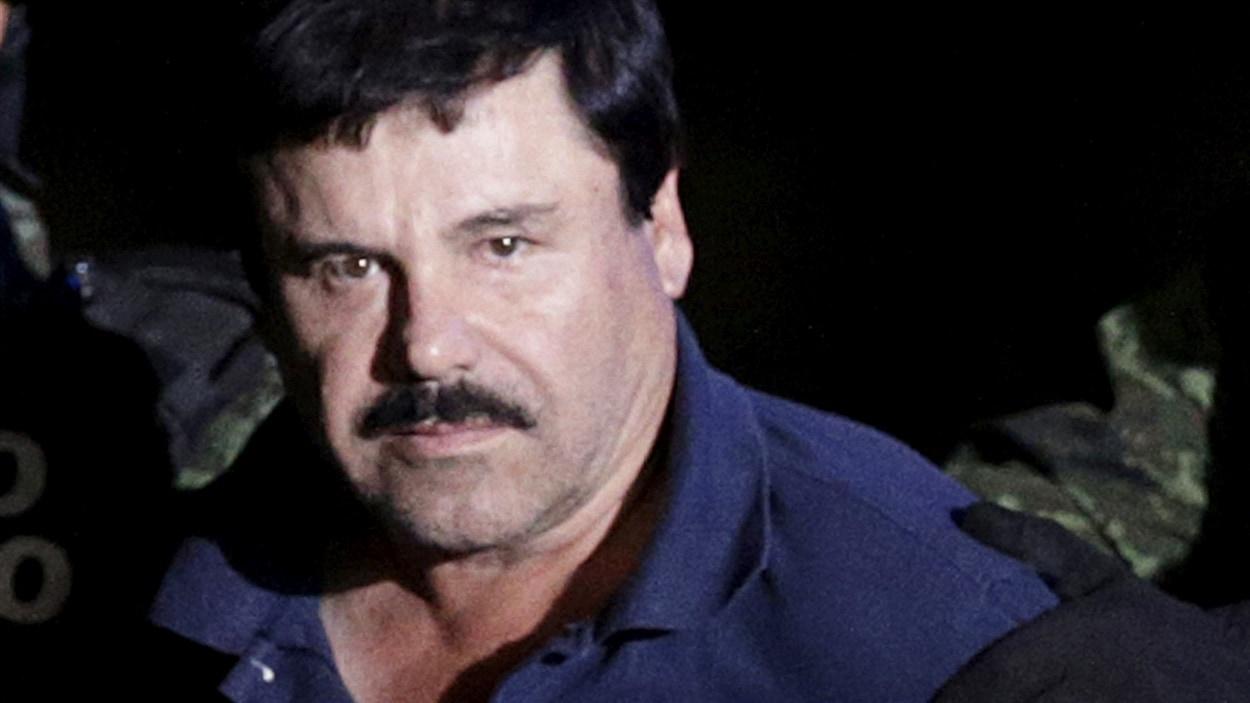 Le narcotrafiquant Joaquín « El Chapo » Guzmán