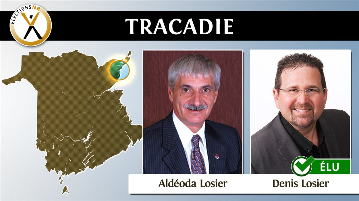 TRACADIE ELECTION NB 2016