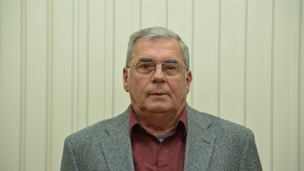 Louis Chouinard, maire élu de Lac Baker