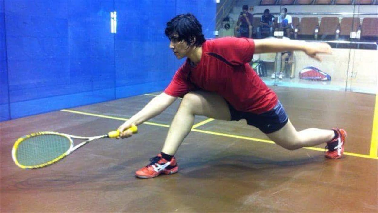 Maria Toorpakai en compétition