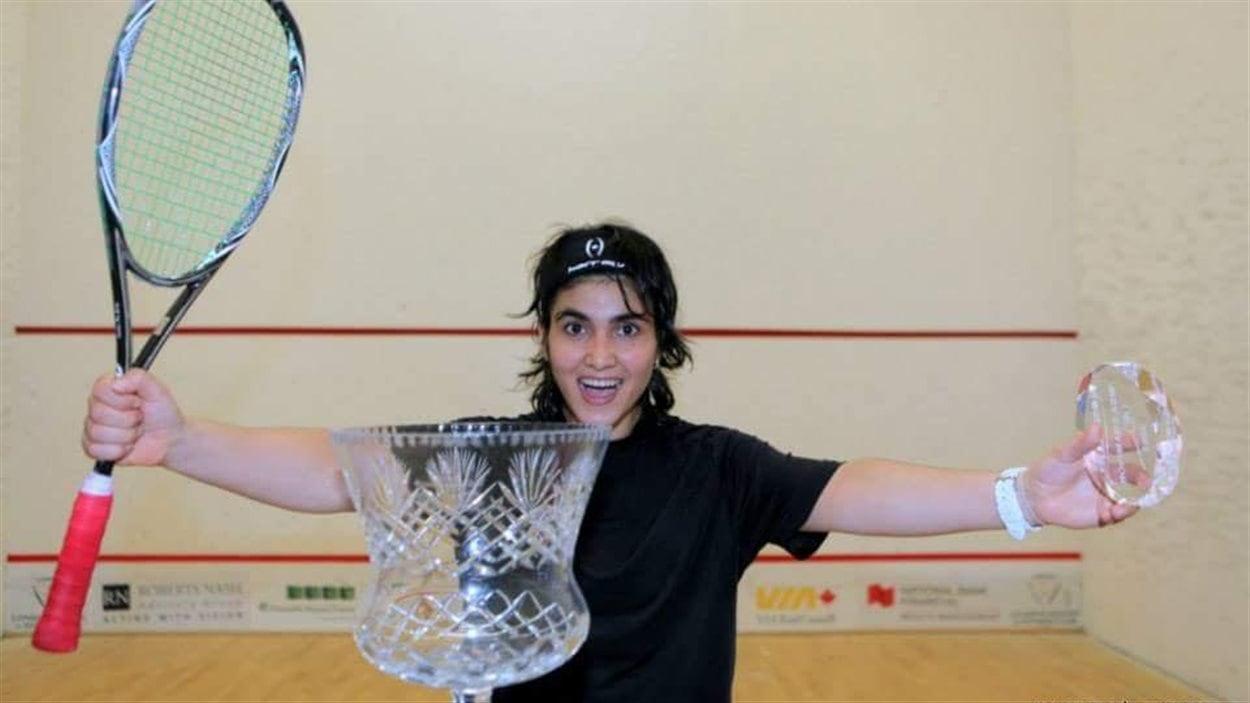 Maria Toorpakai, championne de squash au Pakistan