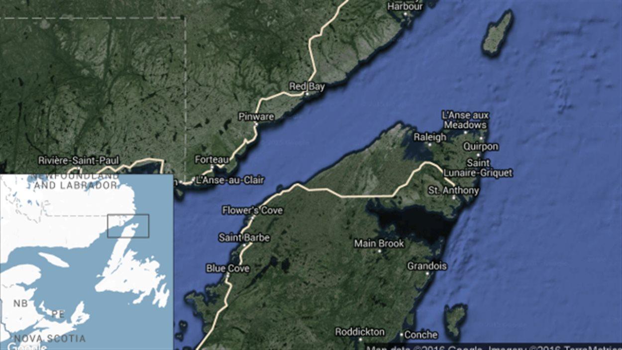 Actuellement, la seule façon de traverser le Détroit de Belle Isle est par traversier.