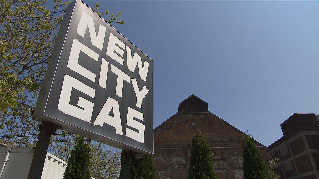 L'édifice du New City Gas dans Griffintown