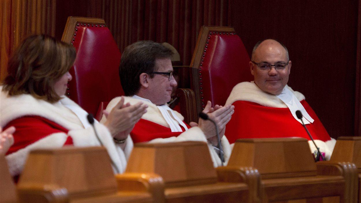 Les juges à la Cour suprême du Canada (2015)