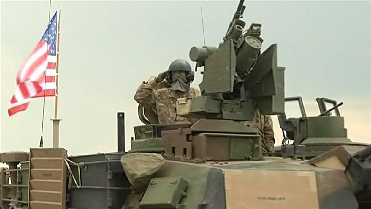 L'OTAN multiplie les manœuvres militaires dans des pays voisins de la Russie.