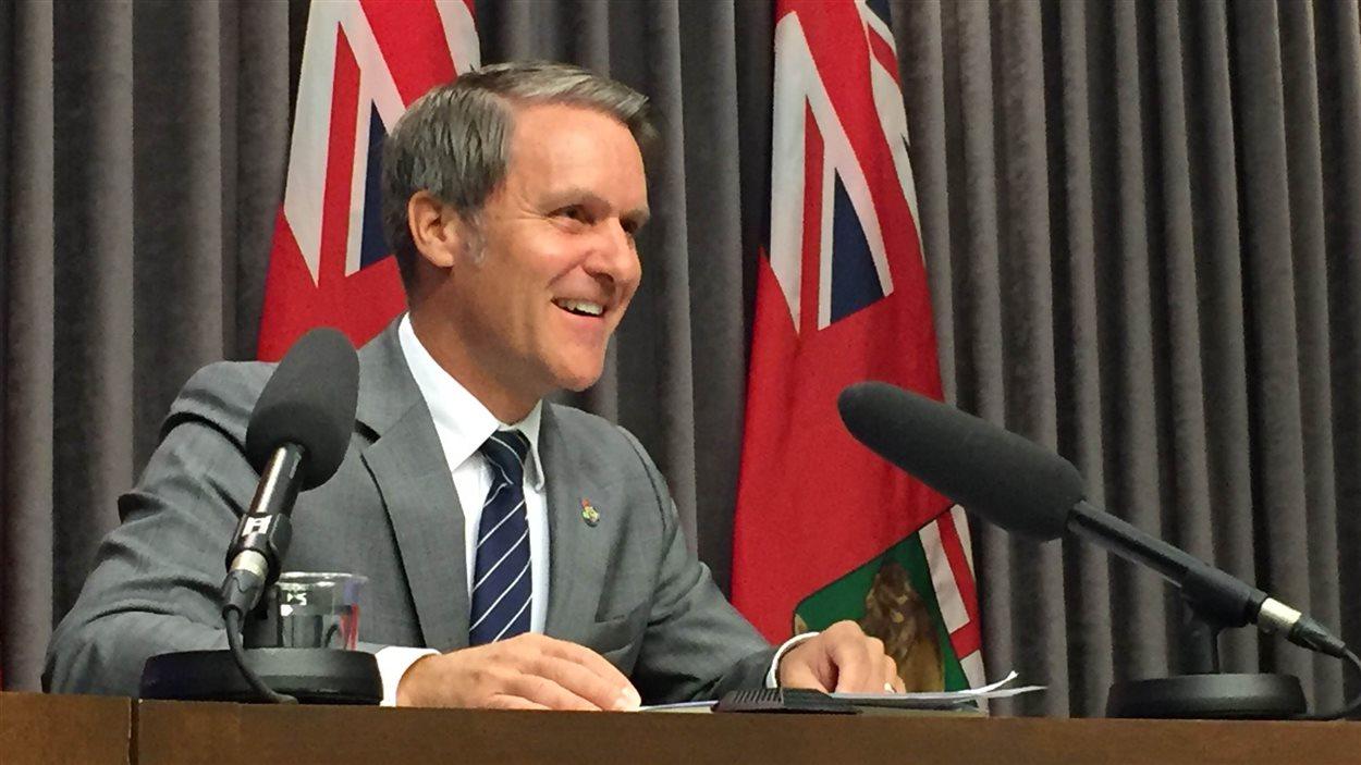 Le ministre des Finances du Manitoba, Cameron Friesen