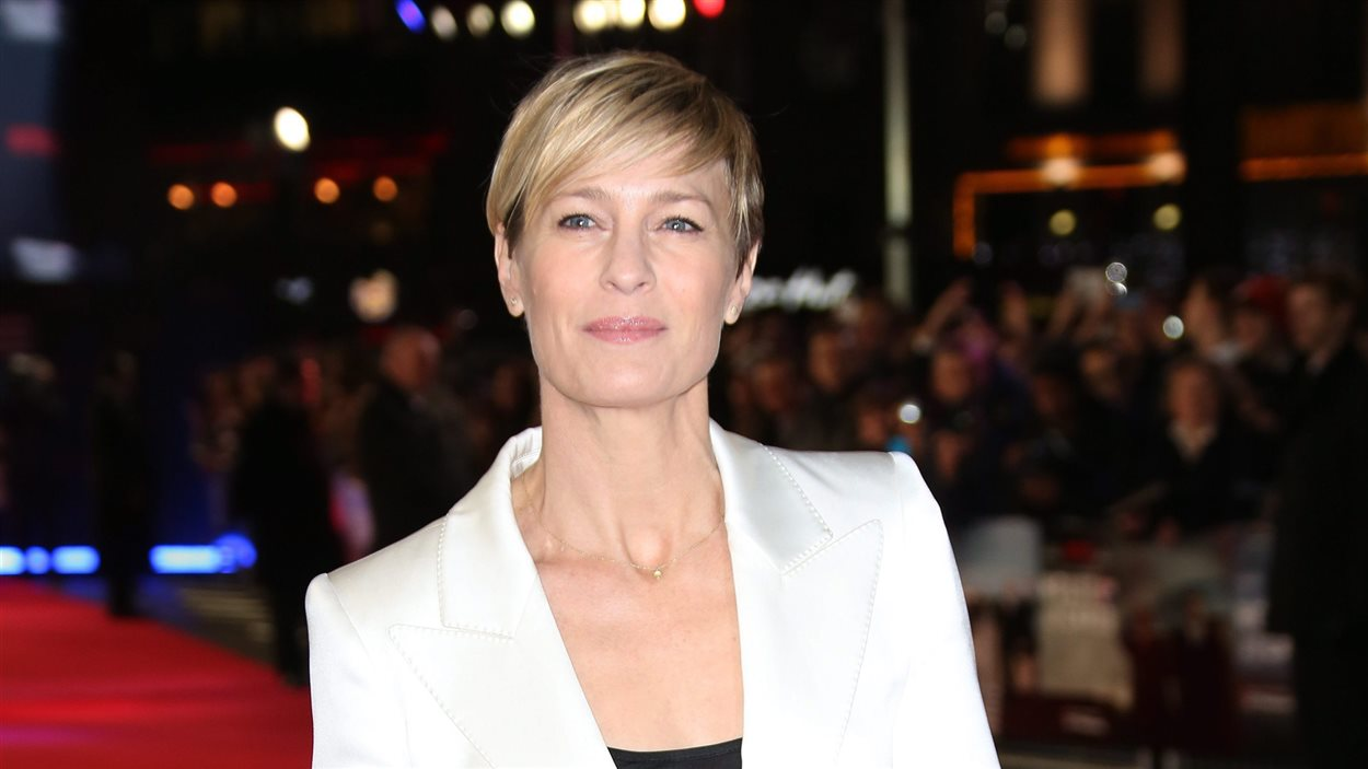 L'actrice Robin Wright