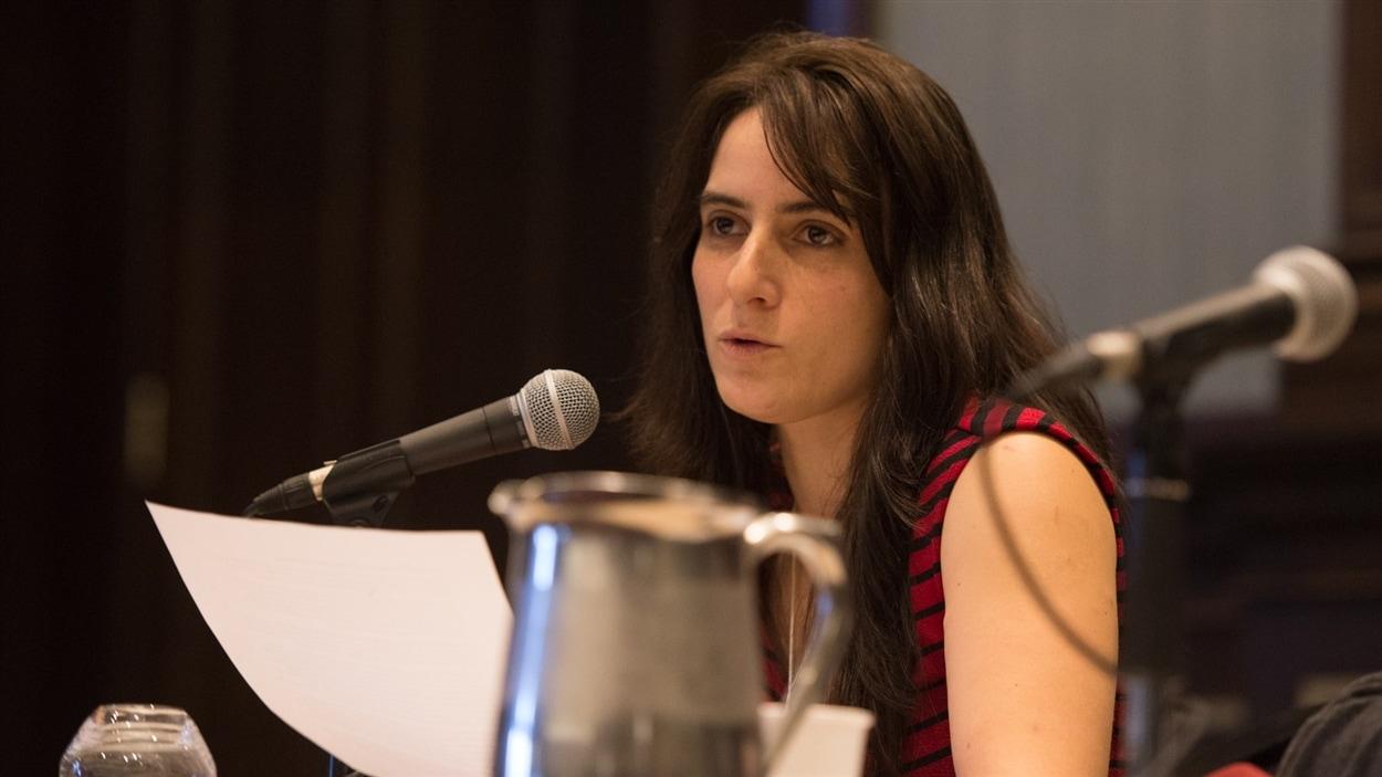 Lise Millette, présidente de la FPJQ