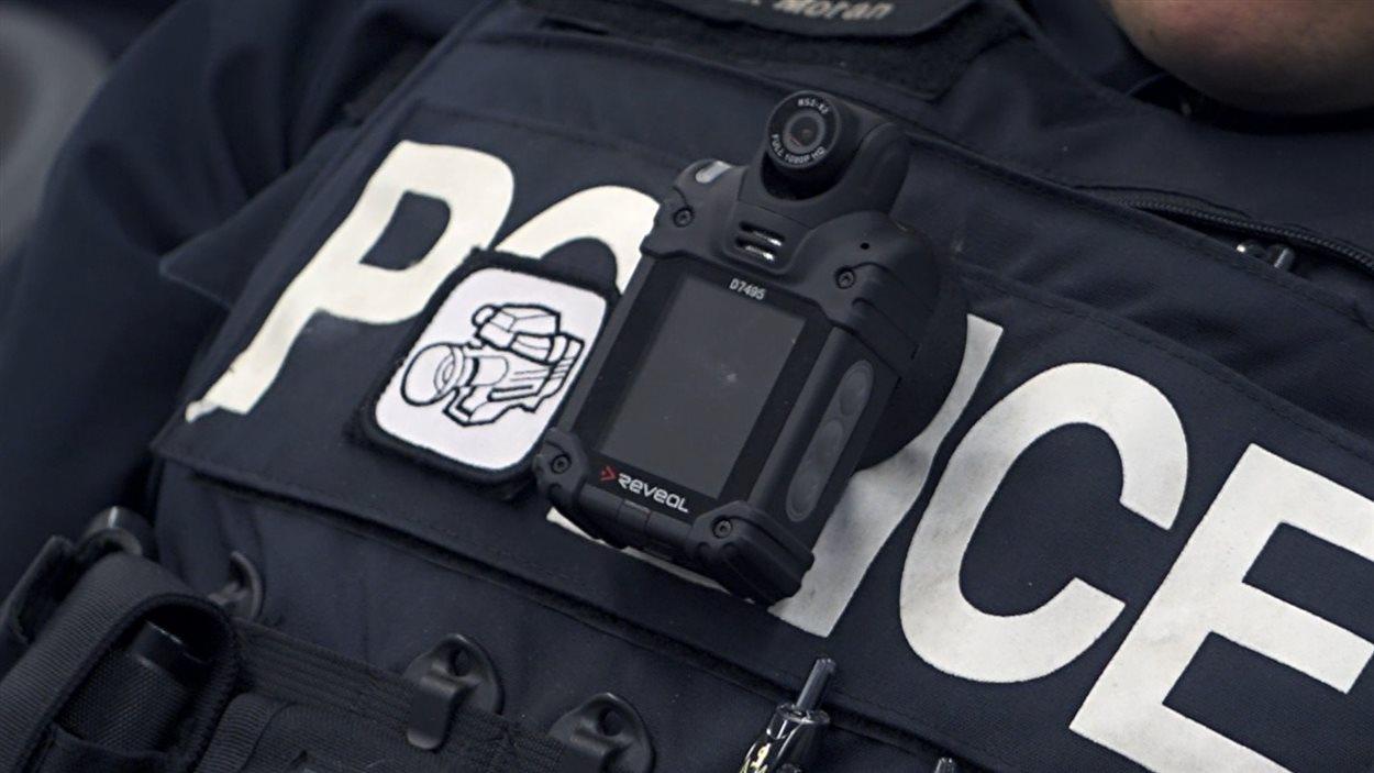 Caméra du type de celles qu'utiliseront les policiers du SPVM à Montréal