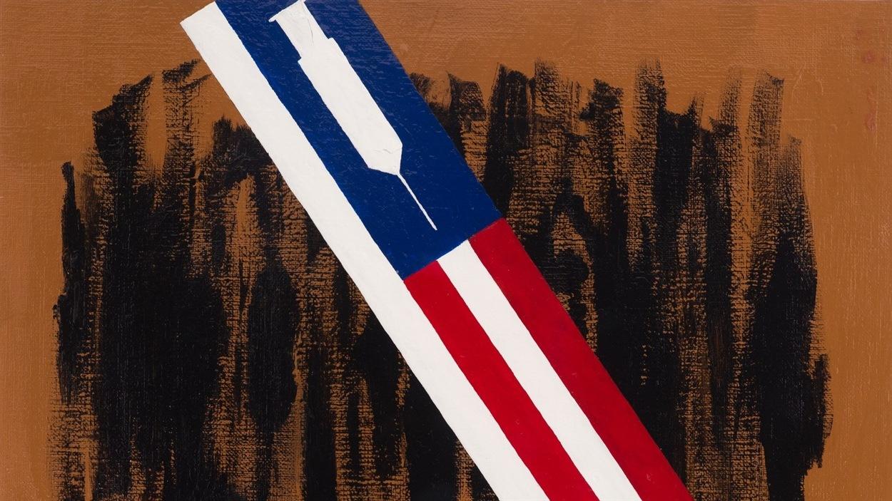 Aperçu d'une œuvre intitulée <i>Lethal Injection</i>, présentée à l'occasion de l'exposition itinérante <i>Windows on Death Row</i>