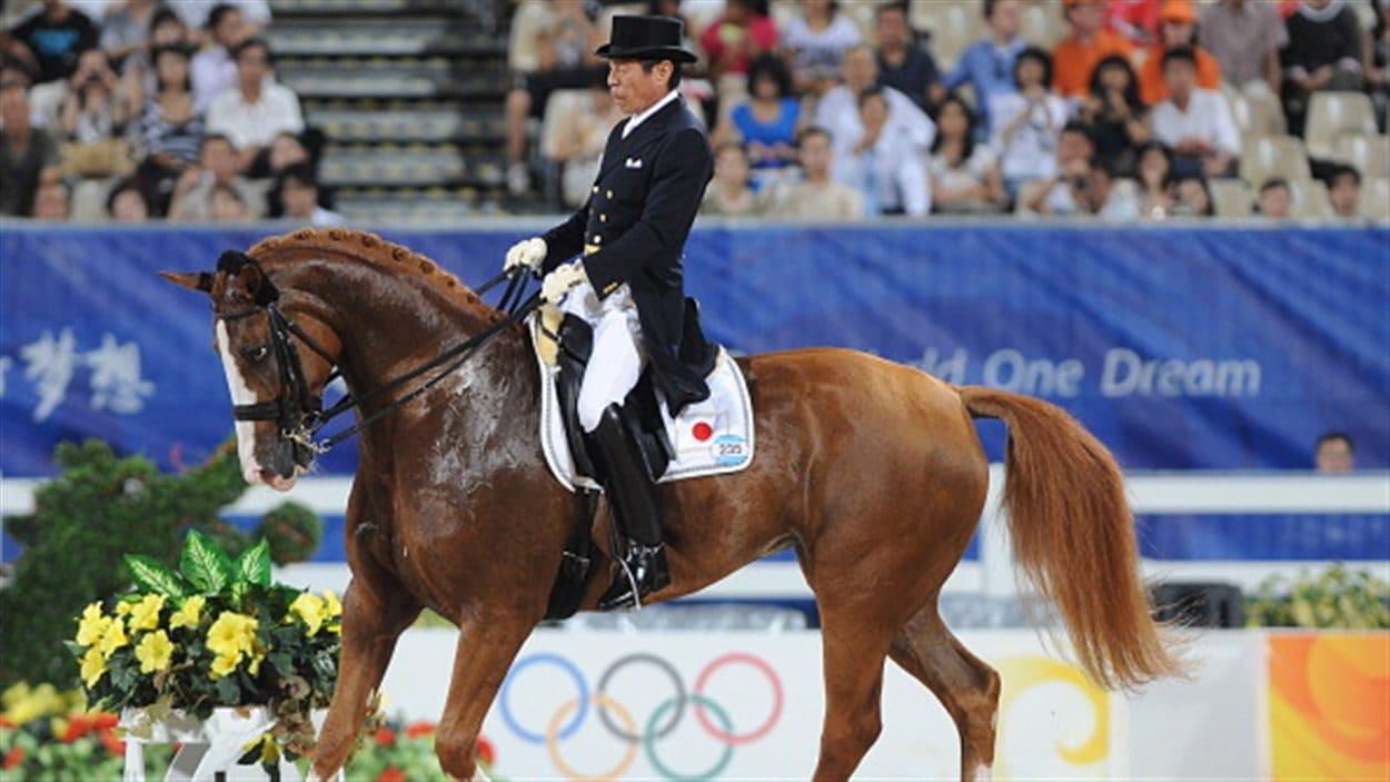 Hiroshi Hoketsu sur Whisper aux Jeux de Londres