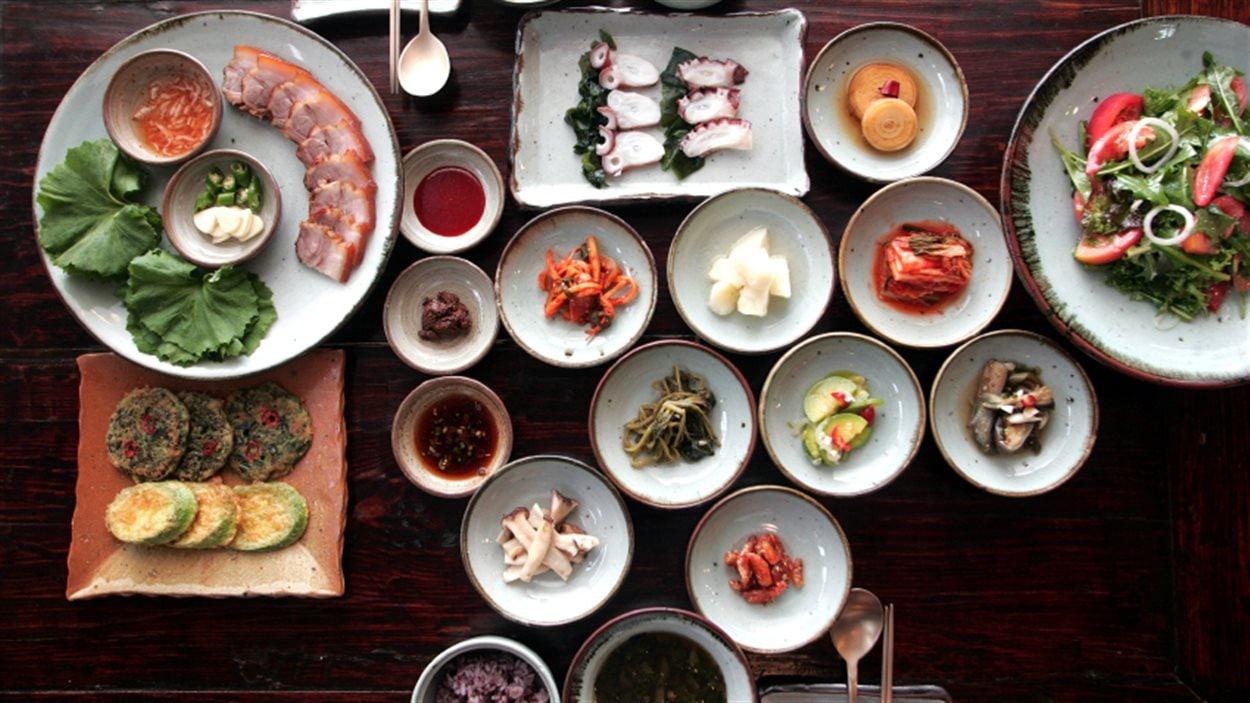 Gastronomie traditionnelle coréenne