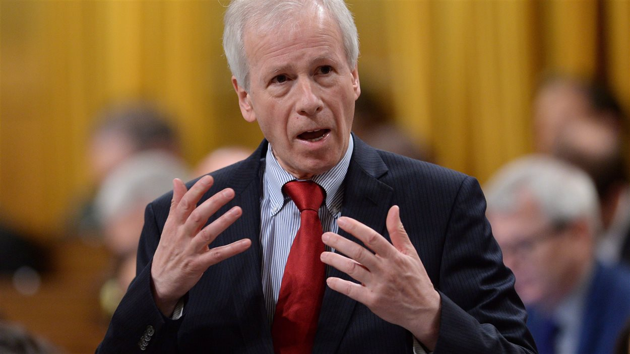 Foreign Affairs Minister Stephane Dion responds to a question during question period in the House of Commons on Parliament Hill in Ottawa on Tuesday, May 3, 2016.