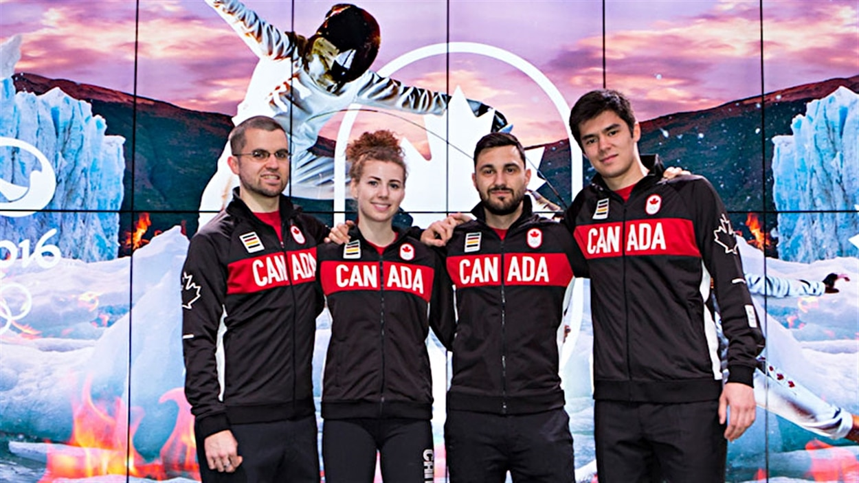 L'équipe canadienne d'escrime pour Rio