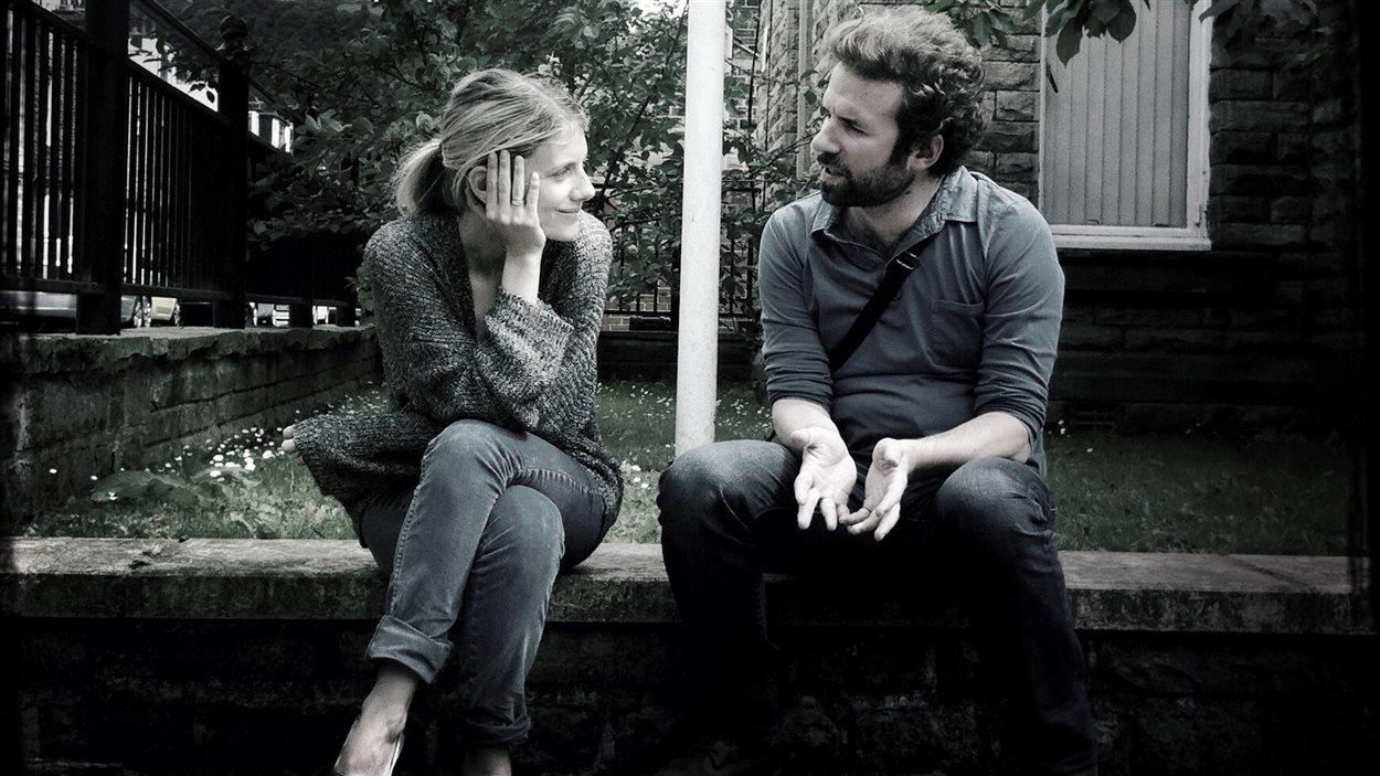 Mélanie Laurent et Cyril Dion