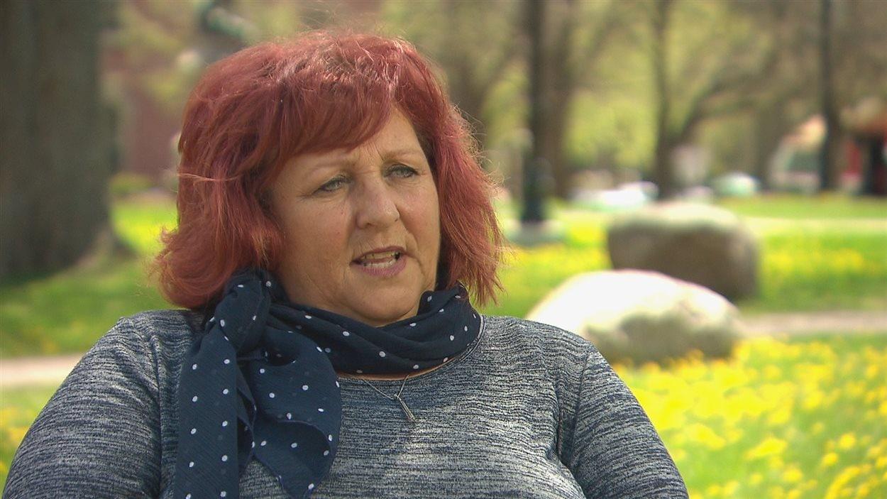Noëlla Arsenault a mené la charge pour l'obtention d'une école francophone à Summerside.