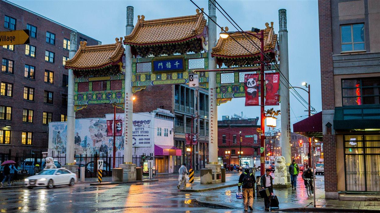 Le quartier chinois de Vancouver