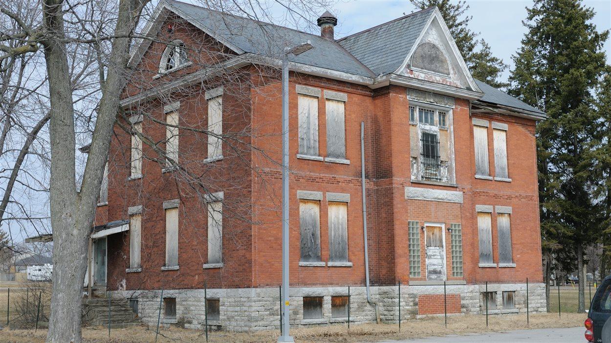 L'hôpital d'isolement Gibson, à Belleville, en Ontario