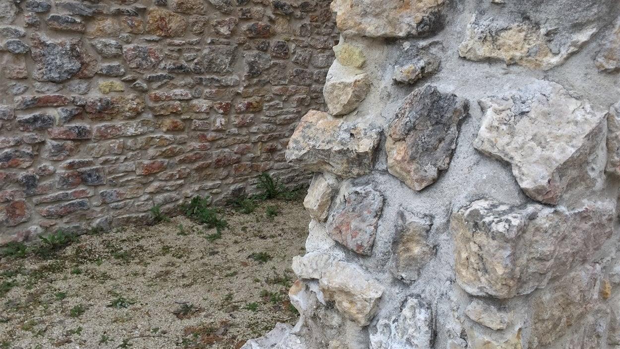 Les ruines du monastère des Trappistes de Saint-Norbert.