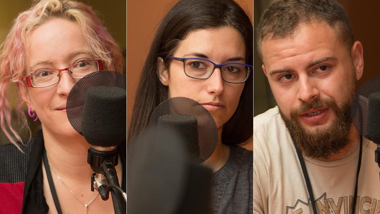 Anick-Marie Bouchard, Anaïs Deleuze et Kevin Novakowski