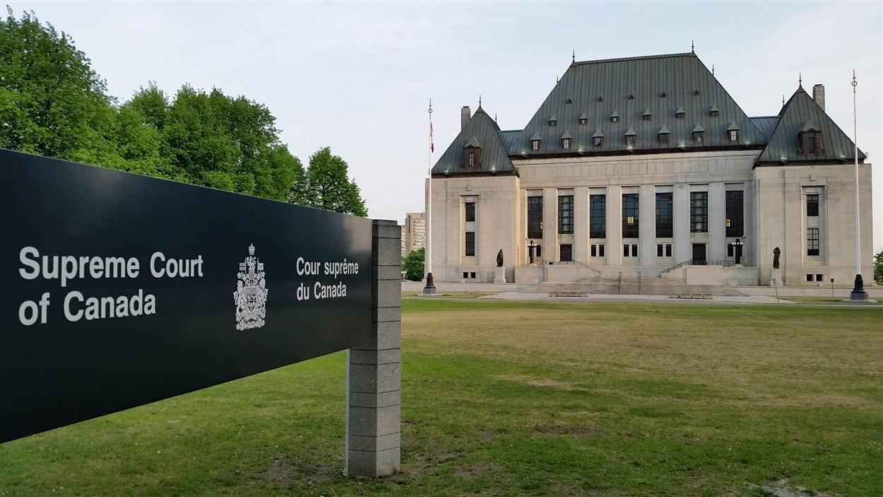 La Cour suprême du Canada, à Ottawa