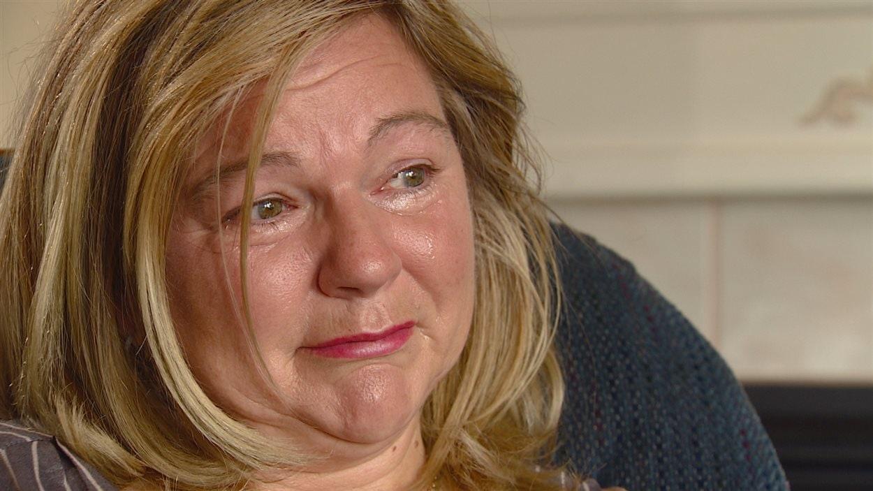 Sandra Legacy vit avec la dépression et est en état de stress post-traumatique.