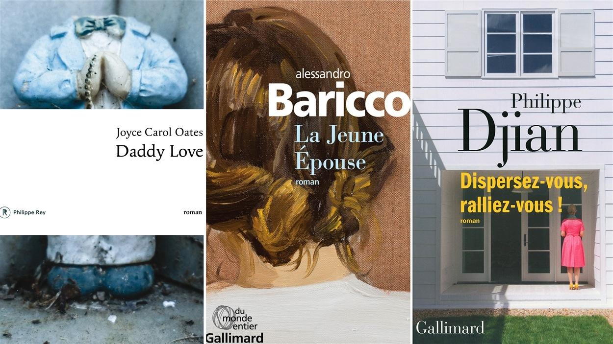 Les couvertures des livres mentionnés lors du club de lecture du 30 mai 2016