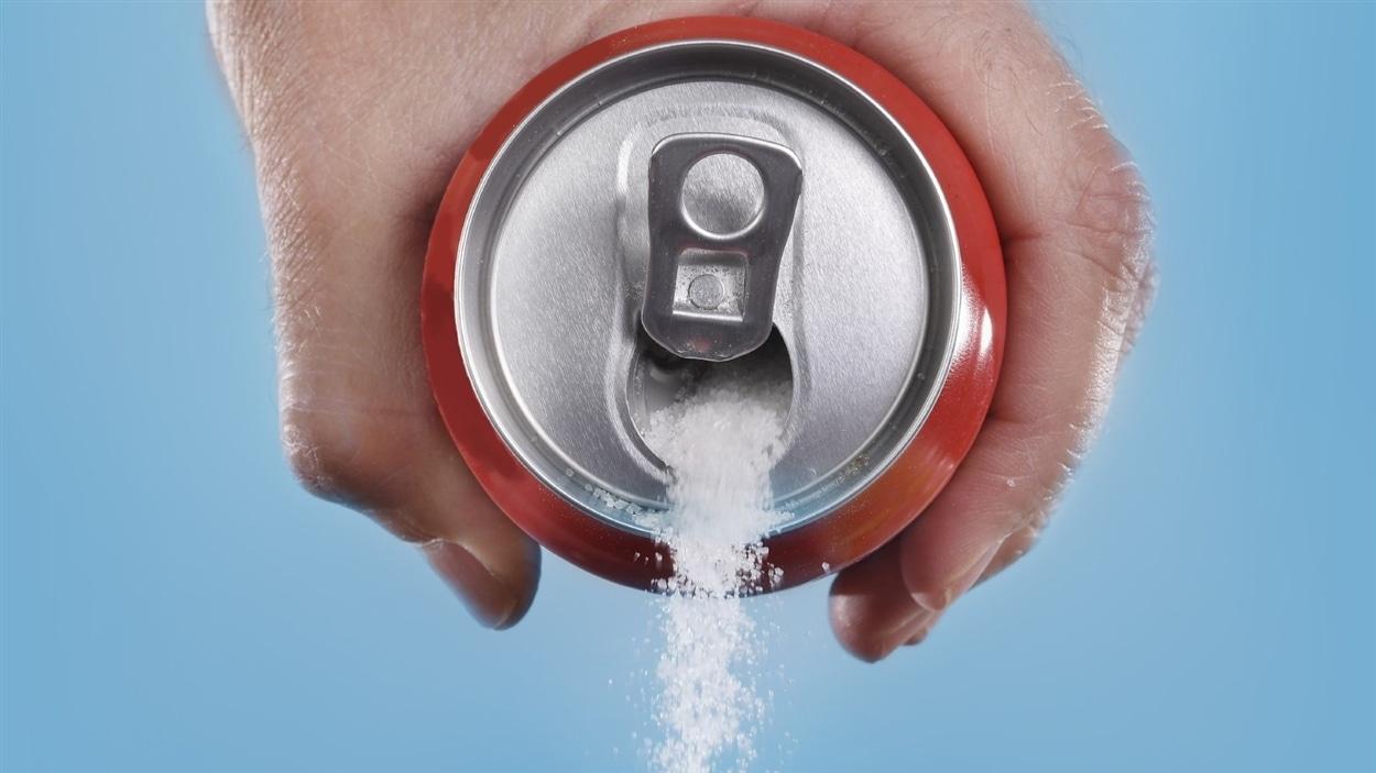 Le Canada est un important consommateur de boissons sucrées.