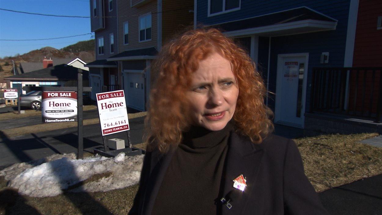 Debbie Hanlon, agente immobilière à Saint-Jean