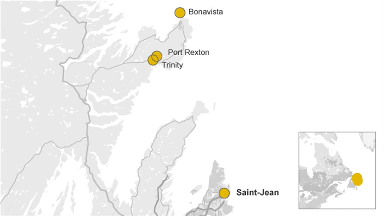 La péninsule de Bonavista