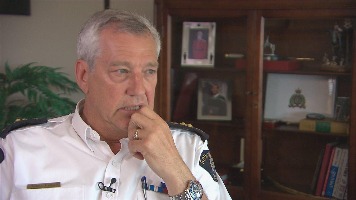 Roger Brown, commissaire adjoint de la GRC au Nouveau-Brunswick, prend sa retraite à titre de commandant samedi.