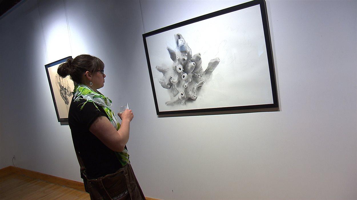 L'exposition Quiproquos et dérives à l'Ouvre-boîte culturel, à Baie-Comeau