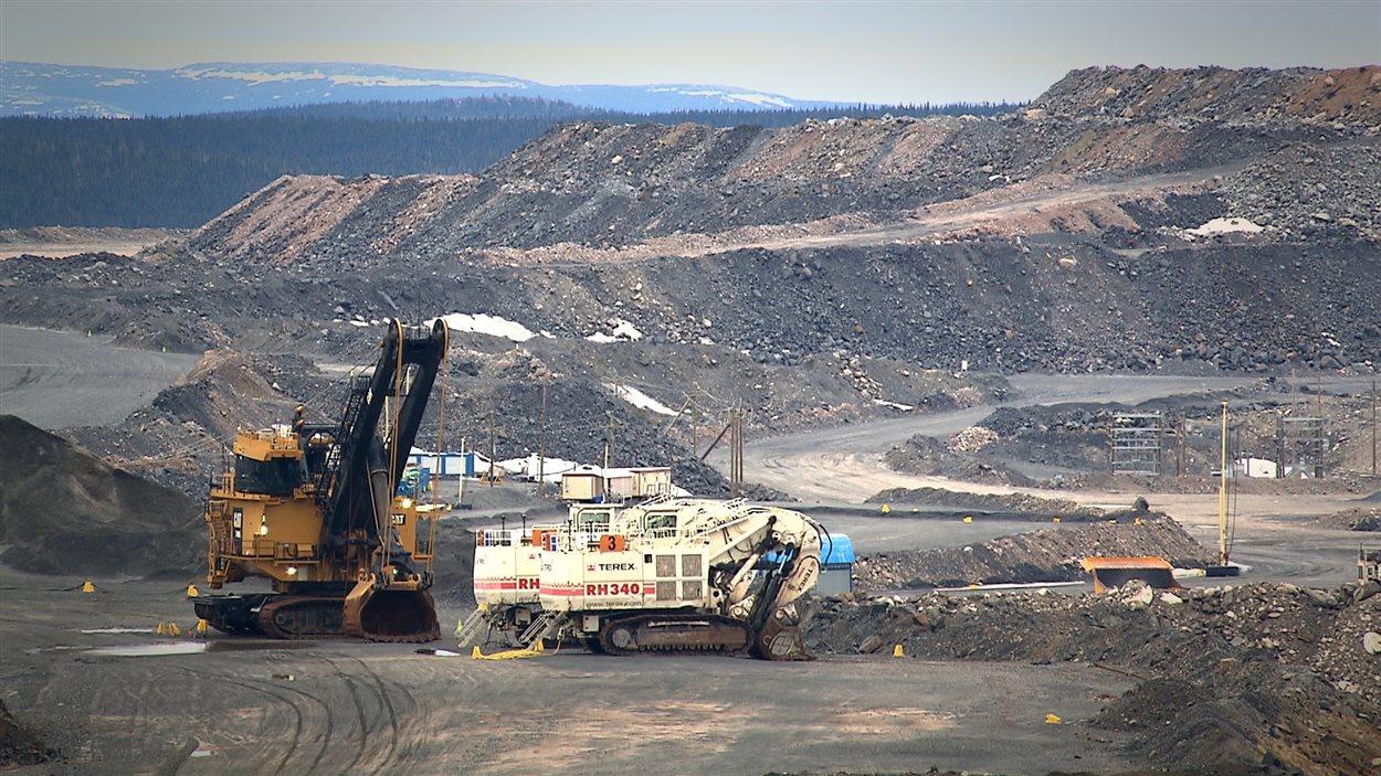 Mine de fer du lac Bloom, près de Fermont