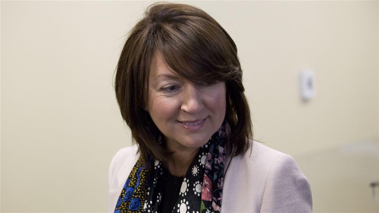 Nathalie Normandeau tente de récupérer son salaire d'animatrice au FM 93.