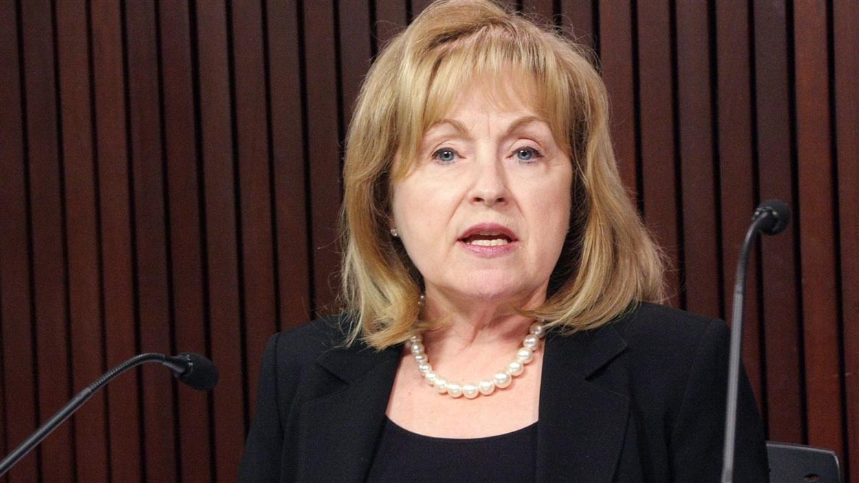 Madeleine Meilleur, députée d'Ottawa-Vanier