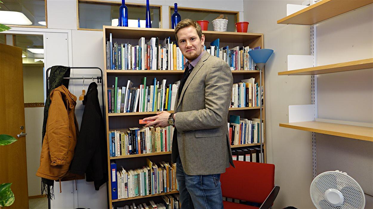 Le chercheur pour le gouvernement finlandais Veiko Pukka