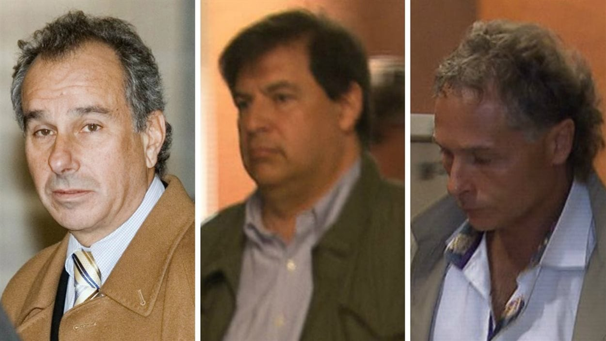 Ronald Weinberg, Lino Matteo et John Xanthoudakis