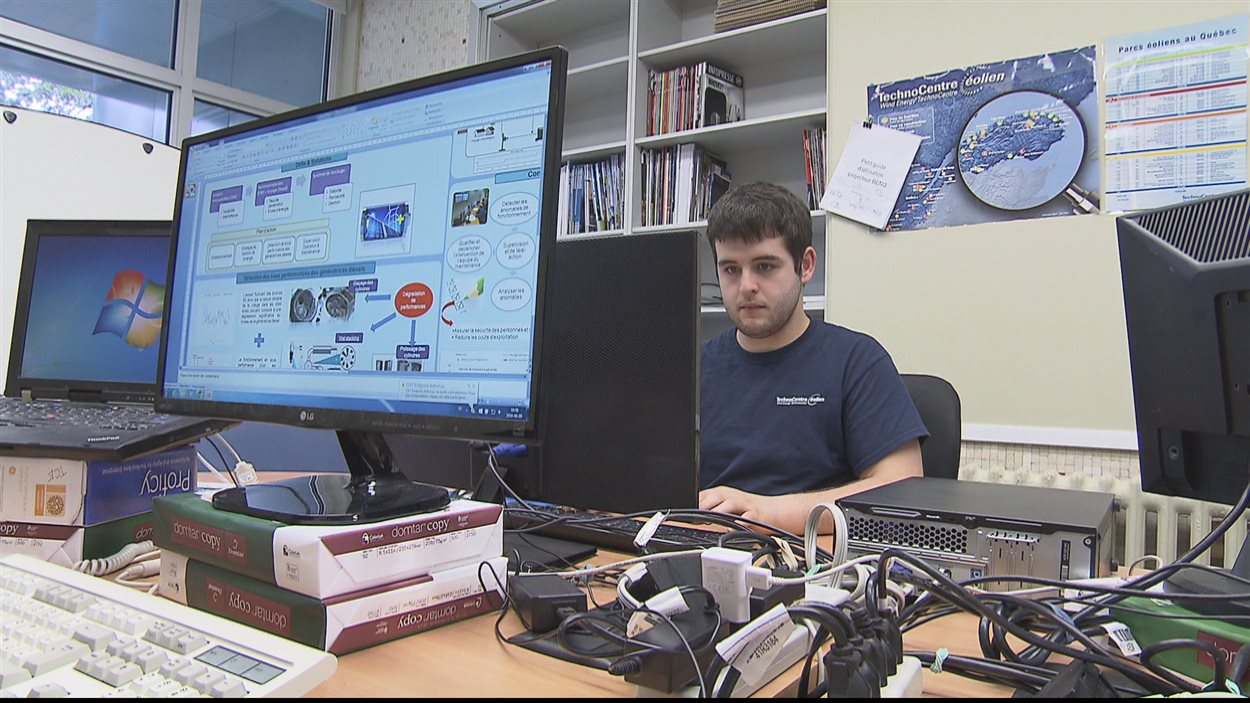 Marc-Olivier Savard étudie au Cégep de Gaspé en informatique.
