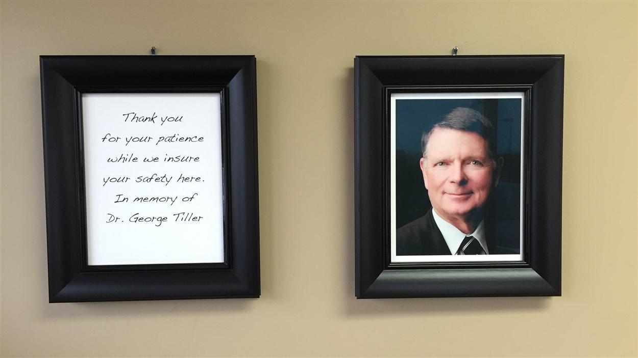 Photo du Dr George Tiller, tué en 2009