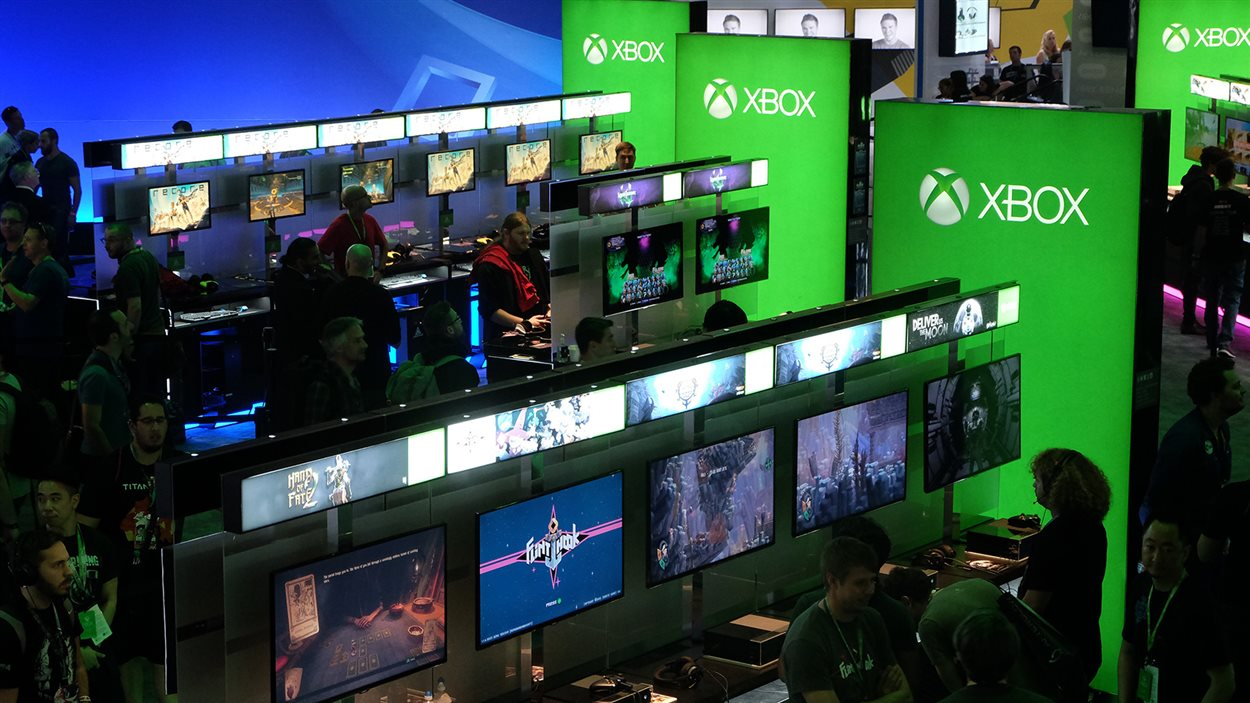 Le Salon du jeu vidéo E3 de Los Angeles attire de nombreux curieux.