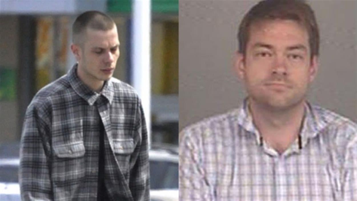 Les deux accusés: Mark Smich (à g.) et Dellen Millard