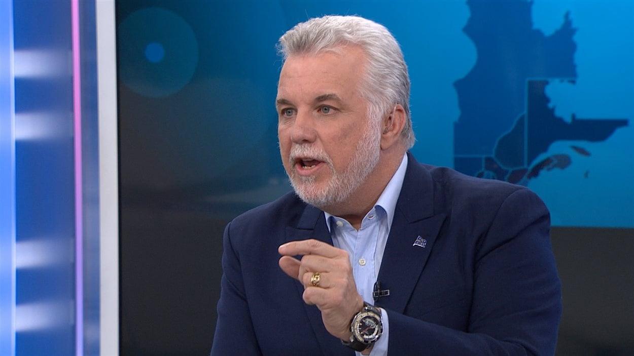 Le premier ministre du Québec, Philippe Couillard.