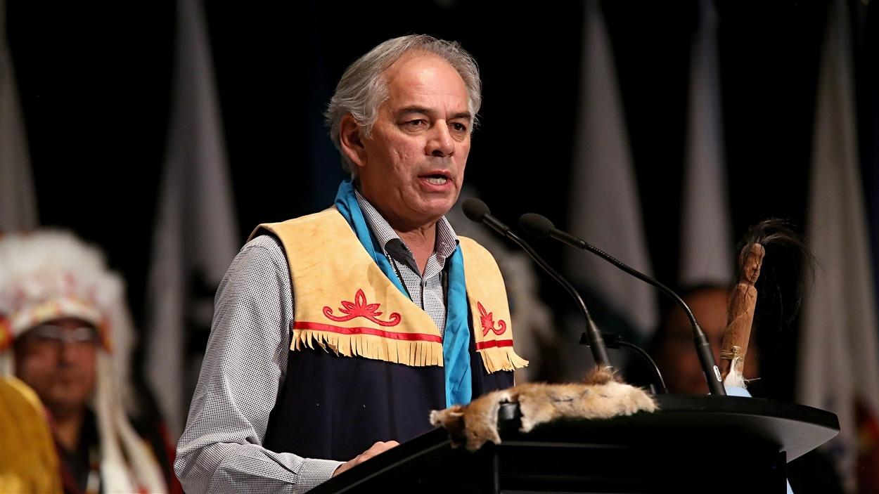 Ghislain Picard est le chef de l'Assemblée des Premières Nations Québec-Labrador (APNQL) depuis 1992. Il en est à son sixième mandat.