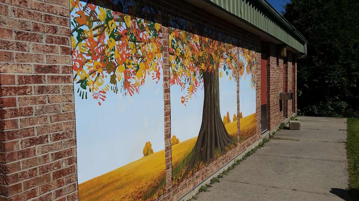 murale aines