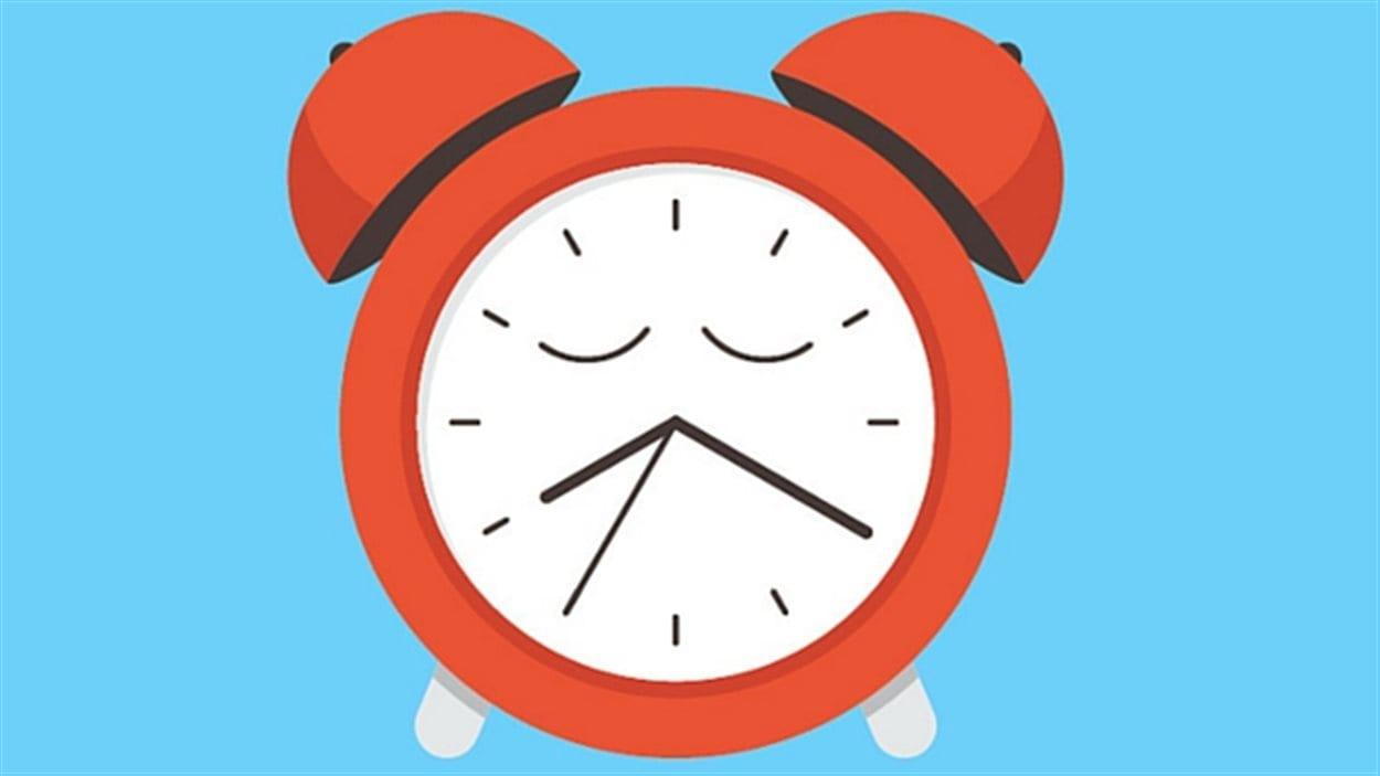 Illustration - Les enfants canadiens sont inactifs et ils pourraient en perdre le sommeil.