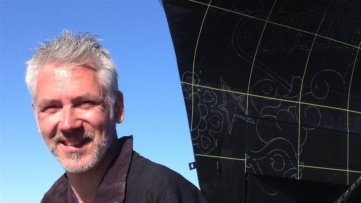 L'artiste Stéphane Dufresne