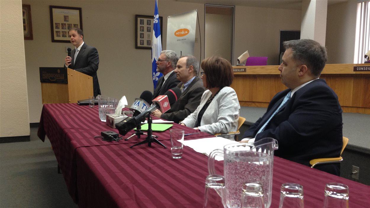 Québec investit un total de 12,3 millions de dollars dans le projet Bourque près de Murdochville.