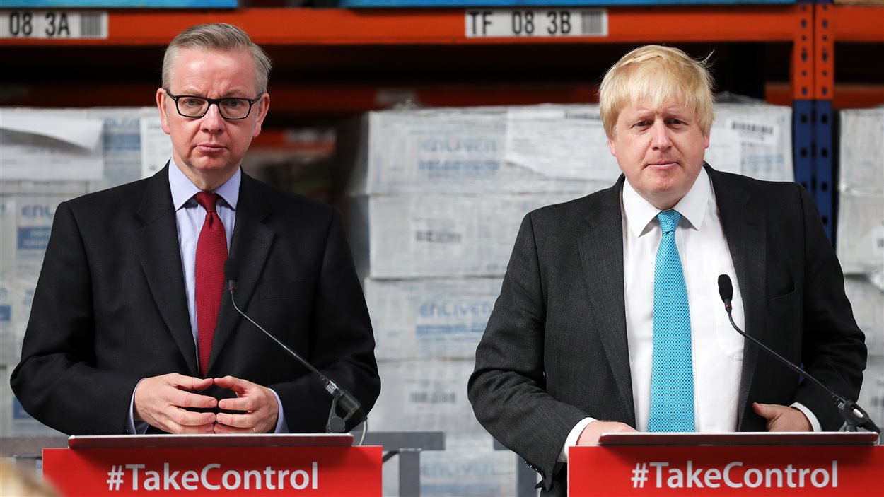 Boris Johnson et Michael Gove