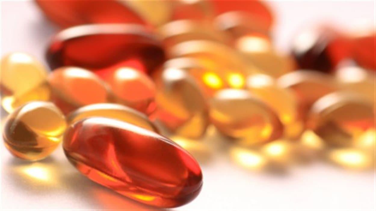 pilules de vitamine D.