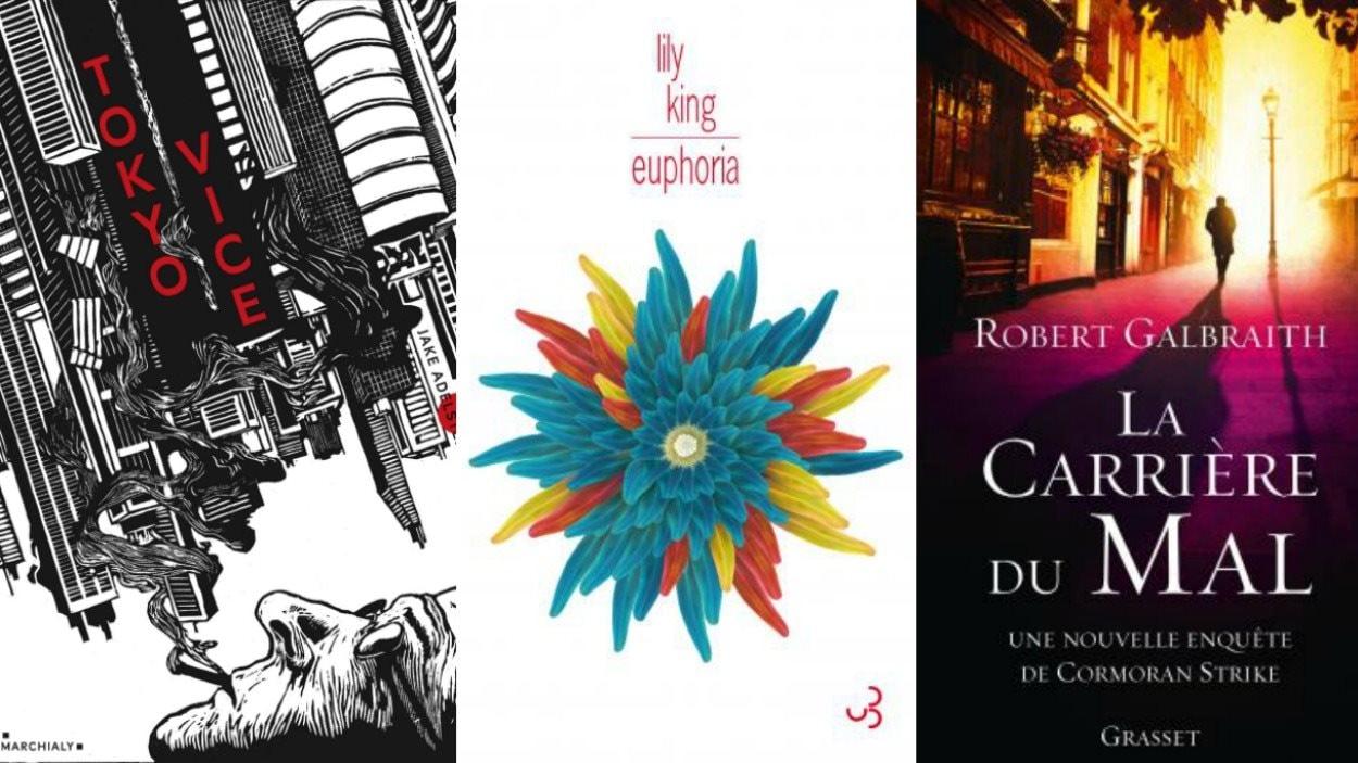 Les couvertures des trois livres recommandés par Marie-Louise Arsenault